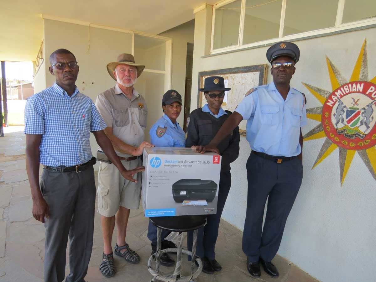Donation to Police